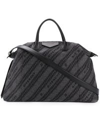 Givenchy Antigona Soft Xl Bag - Black