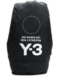 13a690b1cb Y-3 Ultratech Backpack in Black for Men - Lyst