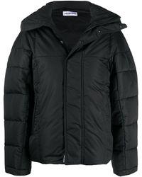 Balenciaga Upside Down Puffer Jacket - Black