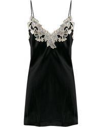 La Perla Maison Silk Slipdress - Black