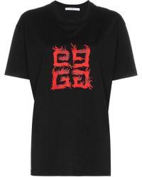 Givenchy - Logo T-shirt - Lyst