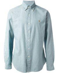 Polo Ralph Lauren - Long Sleeve Logo Shirt - Lyst