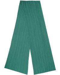 Pleats Please Issey Miyake Scarfs Green