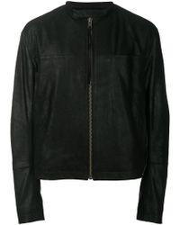 Haider Ackermann - Zipped Leather Jacket - Lyst