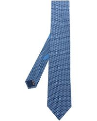 Ferragamo - Silk Tie - Lyst