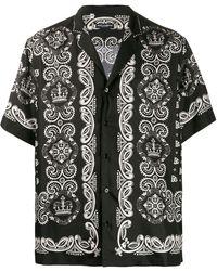 Dolce & Gabbana Camicia con stampa - Nero