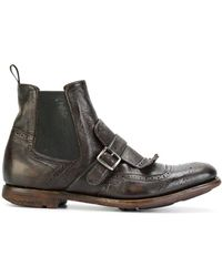 Church's Shanghai 6 Leather Boots - Brown