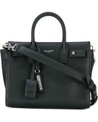 Saint Laurent - Sac De Jour Leather Nano Handbag - Lyst