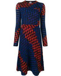 M Missoni - Two Tones Dress - Lyst