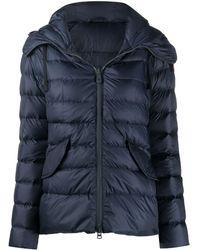 Peuterey Hooded Puffer Jacket - Blue