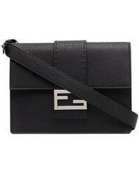 Fendi Logo Belt Bags - Black