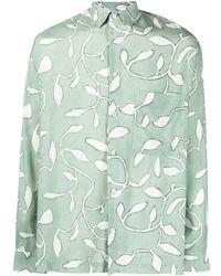 Jacquemus Shirts Green