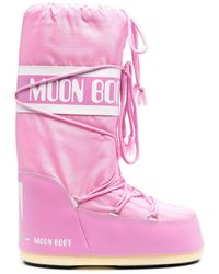 Moon Boot Boots Pink