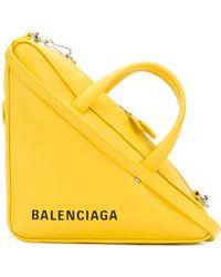 Balenciaga - Small Triangle Handbag - Lyst
