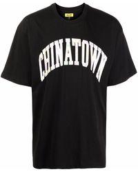 Chinatown Market Logo-print T-shirt - Black