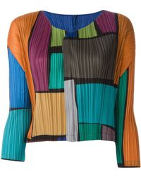 Pleats Please Issey Miyake - Panel Long Sleeves Sweatshirt - Lyst