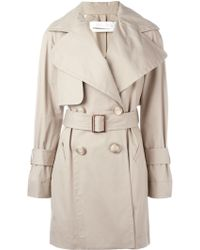See By Chloé Doublebreasted Coat - Blue