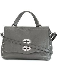 Zanellato Daily Baby Postina Leather Bag - White