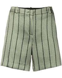 Emporio Armani - Striped Shorts - Lyst