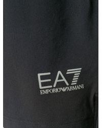 EA7 Logo Track Set - Black