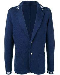 Eleventy - Coated Collar Jacket - Lyst