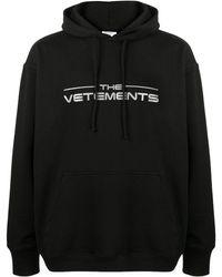 Vetements The Logo Hoodie - Black