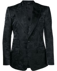 Dolce & Gabbana - Fitted Brocade Jacket - Lyst