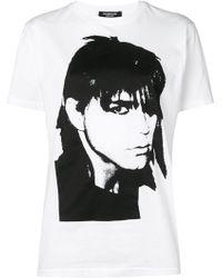 CALVIN KLEIN 205W39NYC Stephen Sprouse Cotton-jersey T-shirt - White