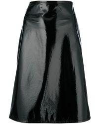 Helmut Lang - Vinyl Skirt - Lyst
