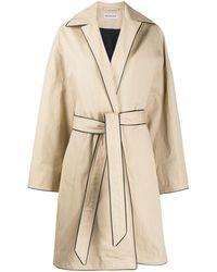 Balenciaga Coats - Natural