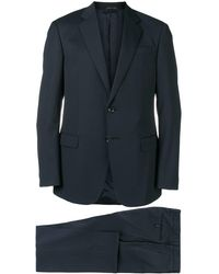 Giorgio Armani Wool Suit - Blue