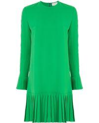 Sara Battaglia - Short Dress - Lyst