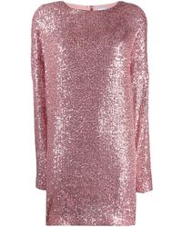 In the mood for love Alexandra Dress - Pink