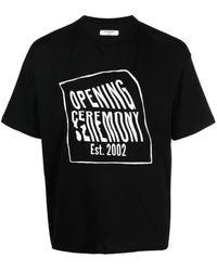 Opening Ceremony T-shirtm/c - Nero
