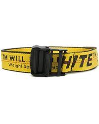 Off-White c/o Virgil Abloh - Industrial Logo Belt - Lyst