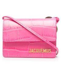 Jacquemus Le Petit Riviera Leather Handbag - Pink