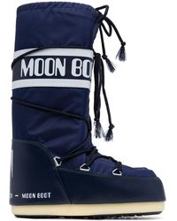 Moon Boot Icon Snow Boots - Blue