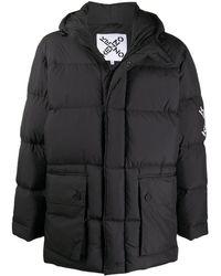 KENZO Sport Little X Padded Coat - Black