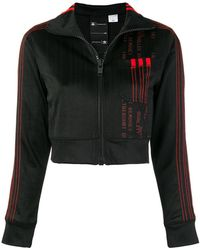 Alexander Wang - Logo Zipped Sweatshirt - Lyst