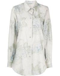 Acne Studios - Floral Pattern Shirt - Lyst