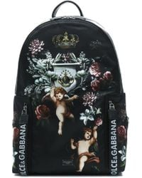 Dolce & Gabbana - Angels Printed Backpack - Lyst