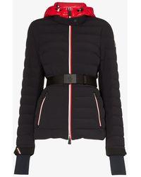 3 MONCLER GRENOBLE Belted Ski Jacket - Black