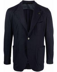 Gabriele Pasini Single-breasted Blazer - Blue