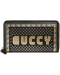 Gucci - Zip Around Wallet - Lyst