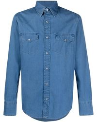 Tom Ford Camicia denim - Blu