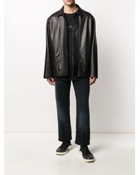 A_COLD_WALL* Faded Straight Leg Pants - Black