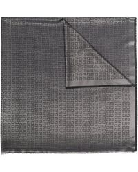 Givenchy Scarfs Gray