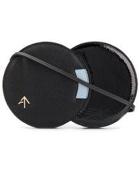 MANU Atelier Twist Leather Bag - Black