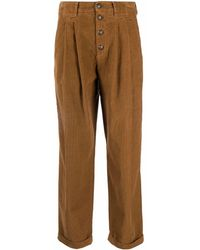 Dondup Trousers Brown