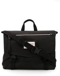 Givenchy Messenger Bag With Logo - Black